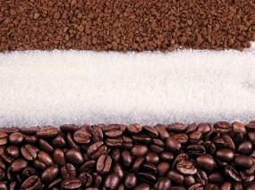 Обои Кофе с сахаром: Кофе, Сахар, Еда