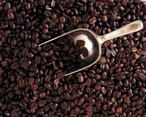 Обои Кофейные зерна: Кофе, Зёрна, Еда