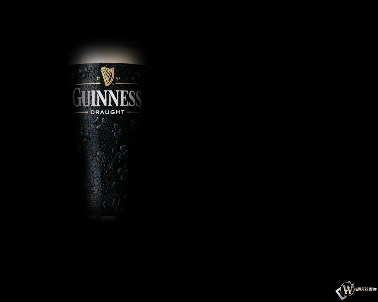 Пиво Guinness 1280x1024