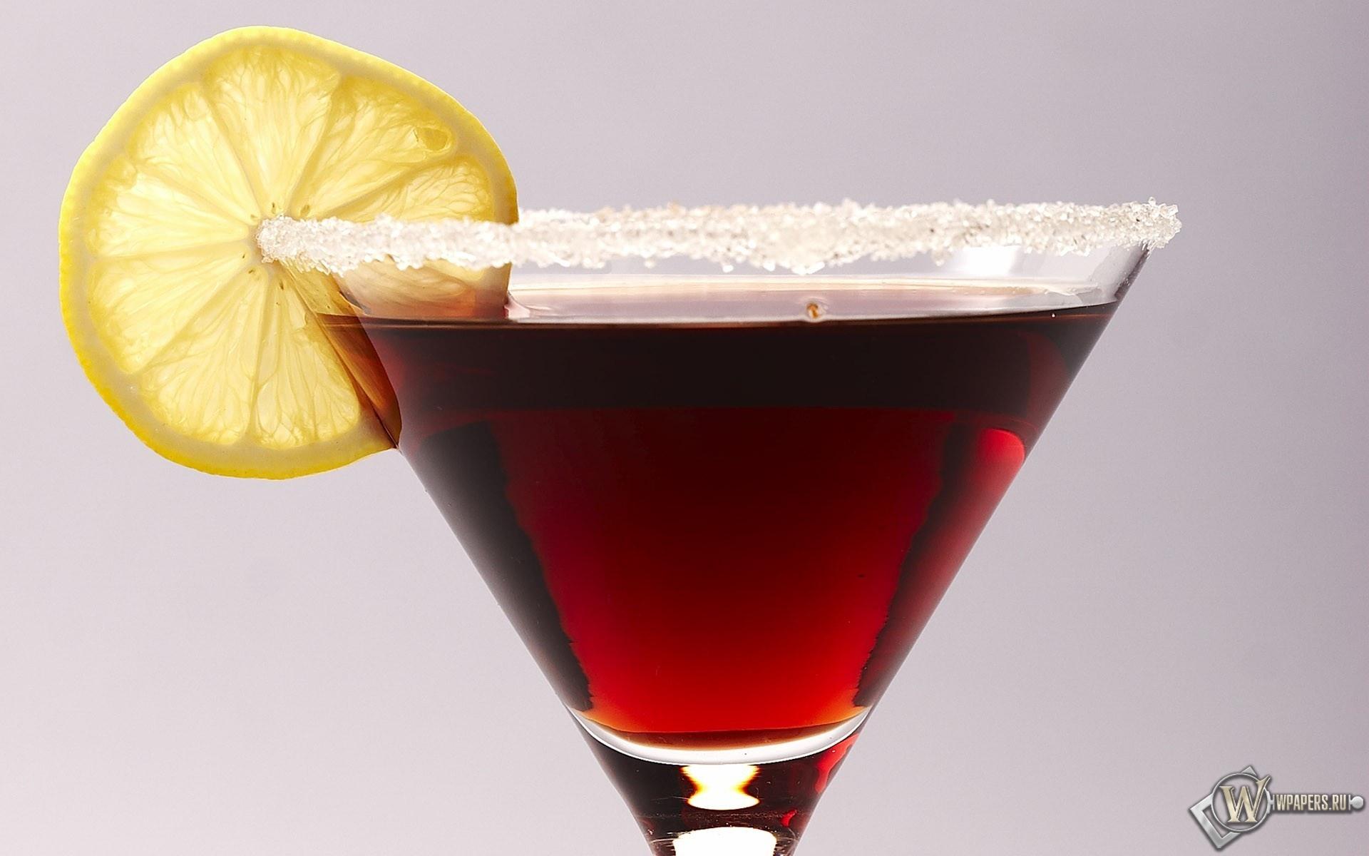 Красный коктейль 1920x1200