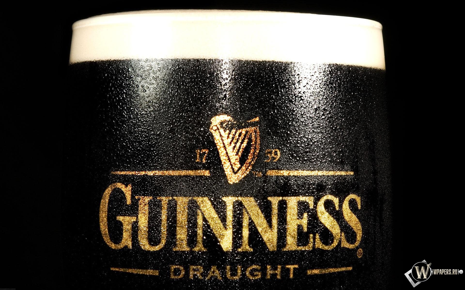 Пиво Guinness 1920x1200