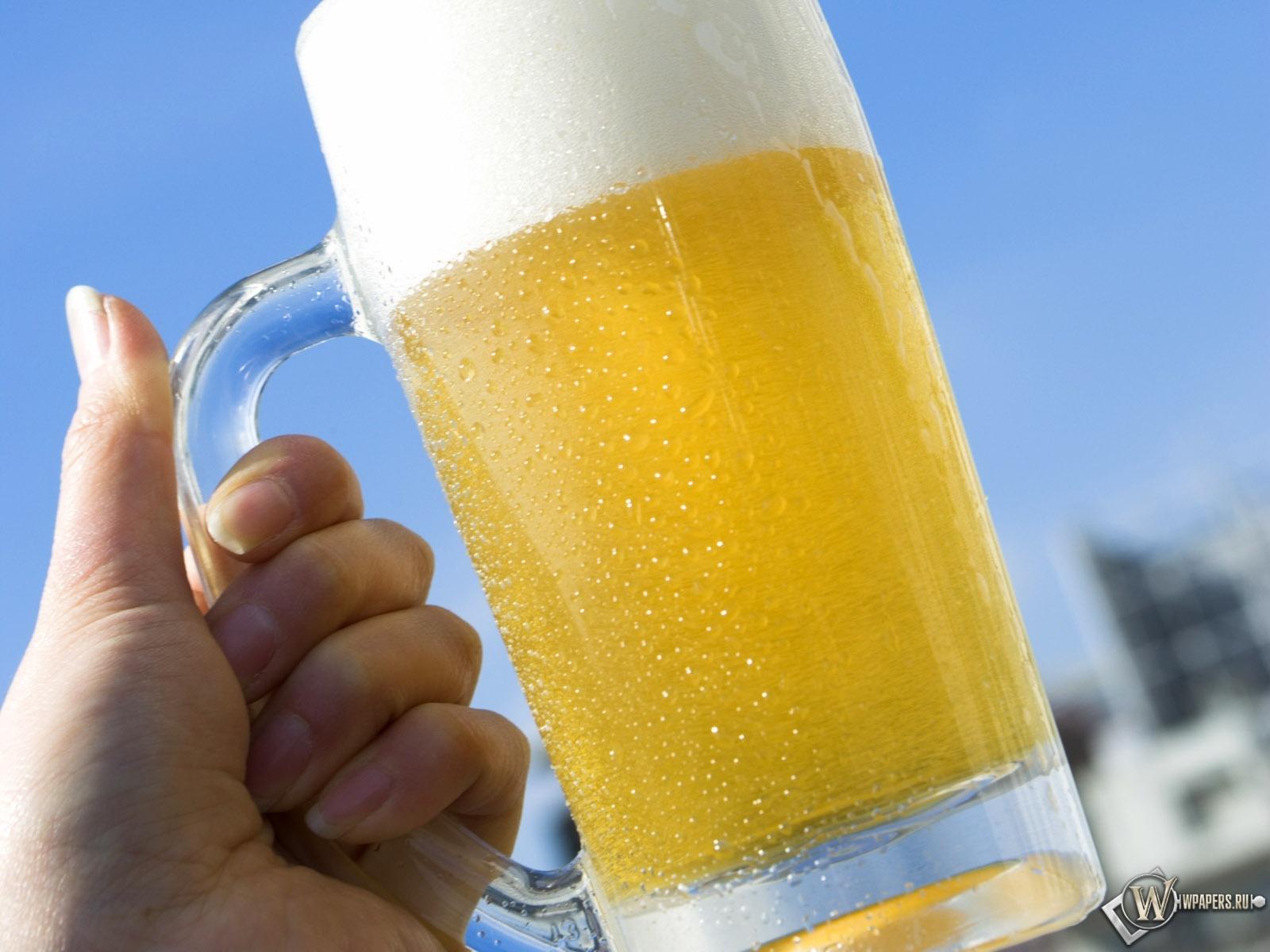 Прохладное пиво 1600x1200