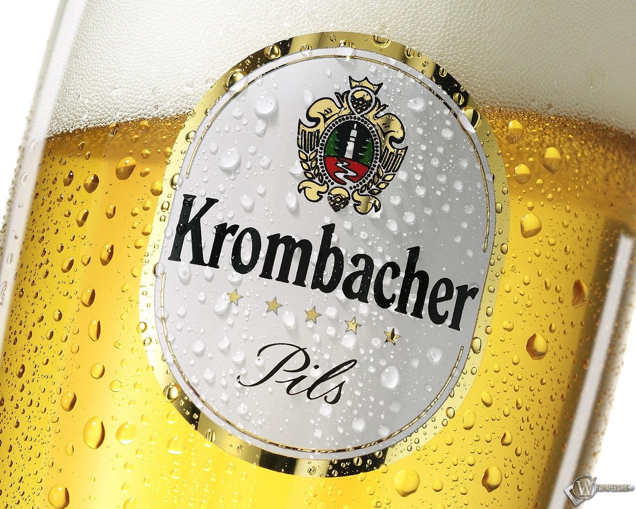 Krombacher Beer 1280x1024