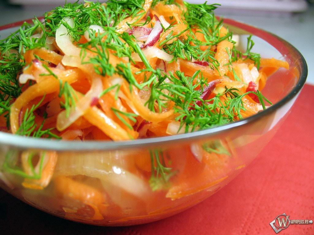 Овощной салат для похудения 1024x768