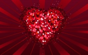 Обои День Святого Валентина: Любовь, Сердце, Красный, Праздники