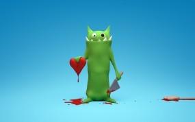 Обои Сердце: Сердце, 14 февраля, Праздники