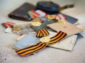Обои День победы: День Победы, Медаль, Награда, Лента, День победы