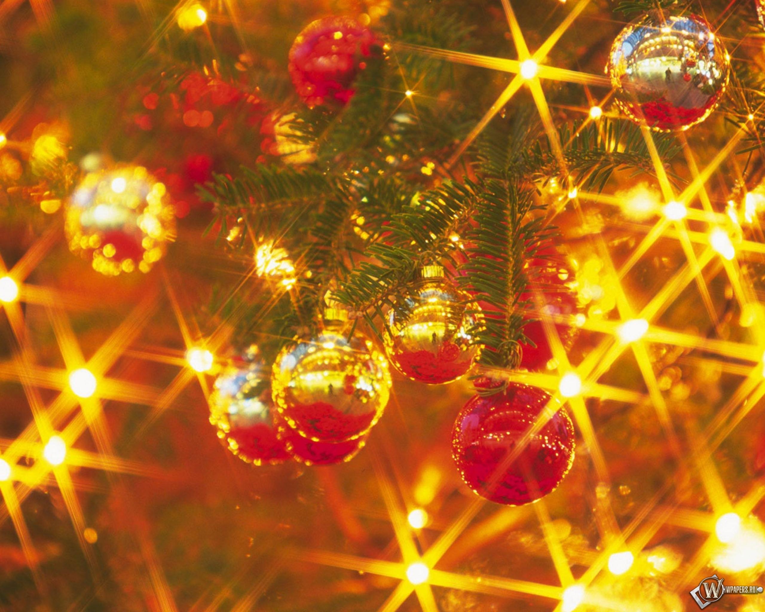 Картинки с огоньками новогодними
