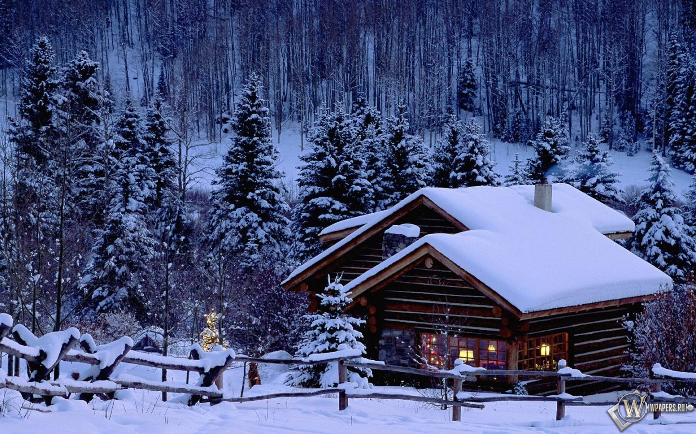 картинки рабочего стола дом зимой это был самый