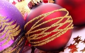 Обои Новогодние шары: Новый год, Шары, Игрушки, Украшения, Новый год