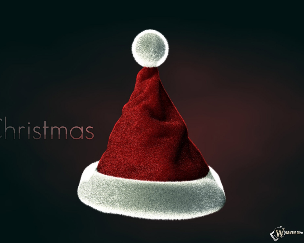 Рождественская шапка 1280x1024