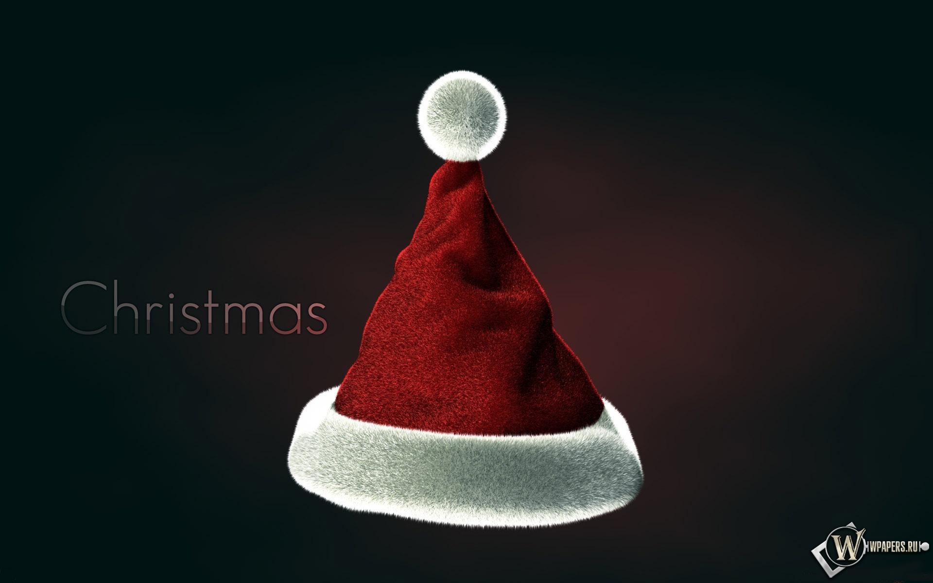 Рождественская шапка 1920x1200