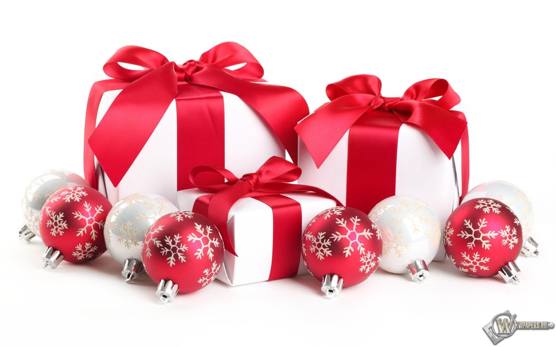Новогодние подарки 1920x1200