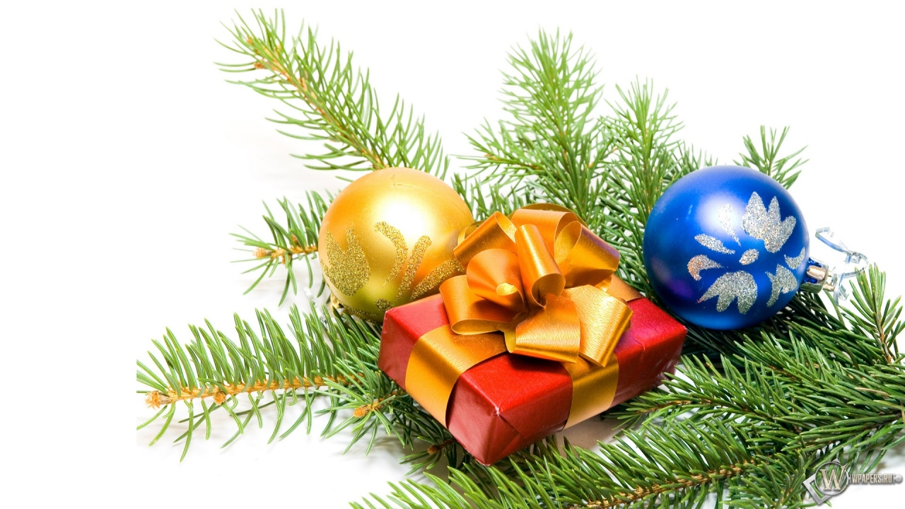 Новогодний подарок 1280x720