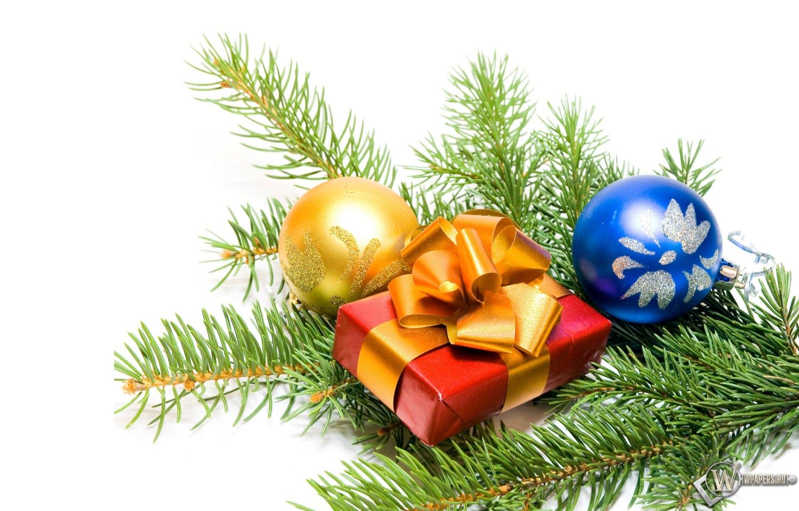 Новогодний подарок 1600x1024