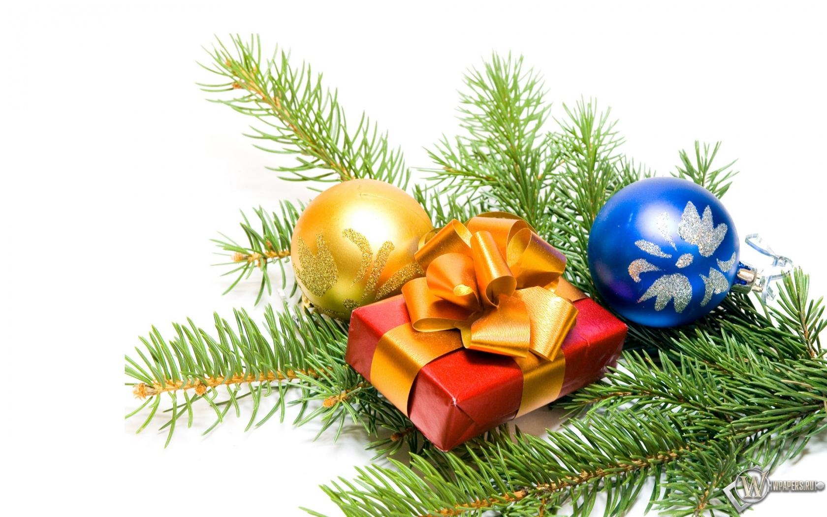 Новогодний подарок 1680x1050