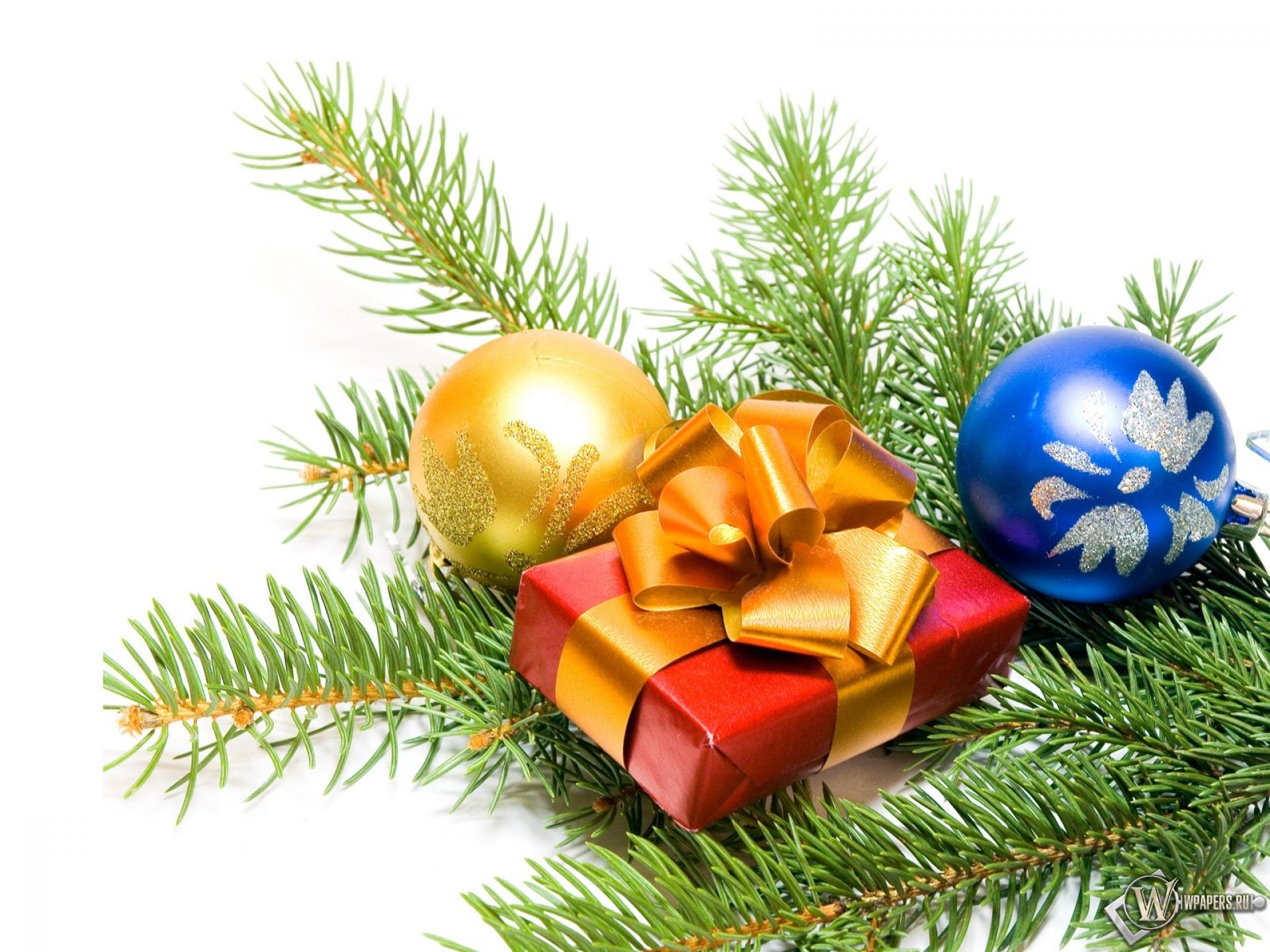 Новогодний подарок 1920x1440
