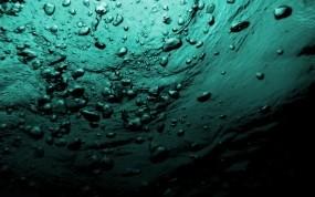 Обои пузыри в море под водой: Вода, Море, Пузыри, Под водой, Лёд / Вода