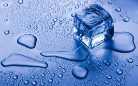 Обои Кубик льда: Вода, Лёд, Кубик льда, Лёд