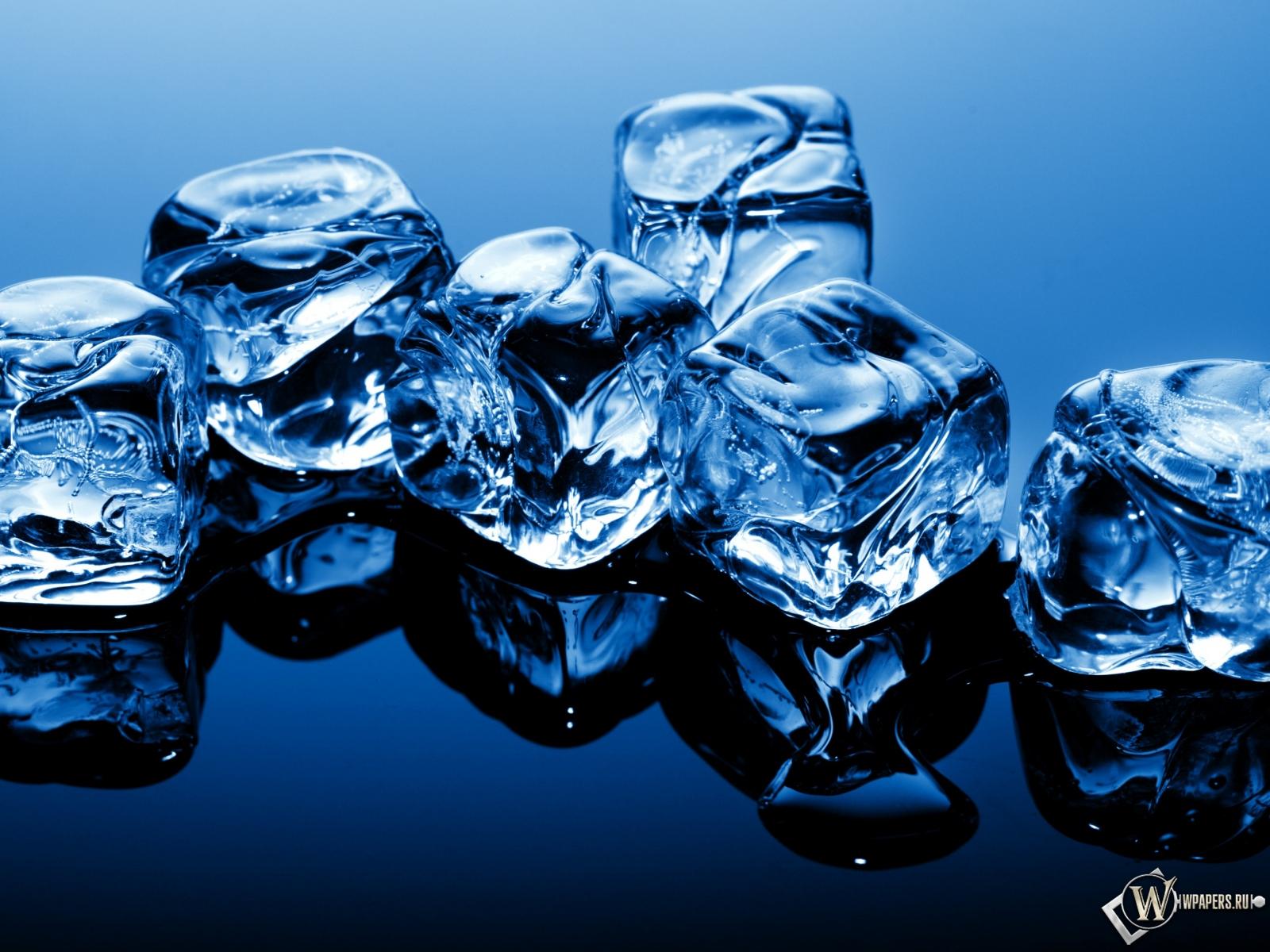 Кубики льда 1600x1200