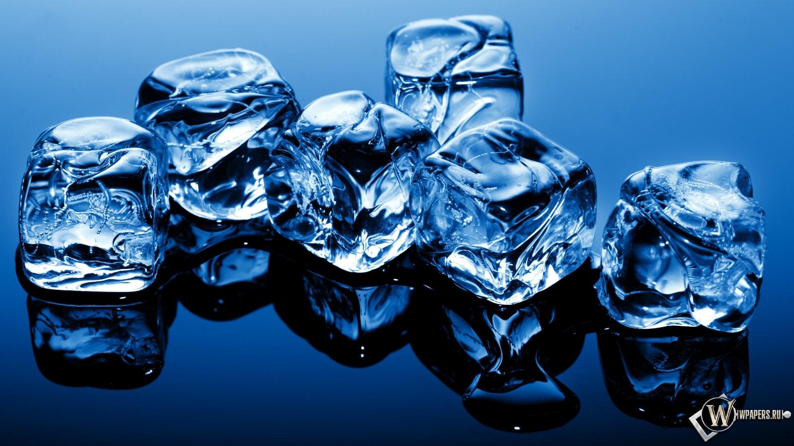 Кубики льда 1600x900