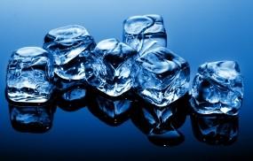 Обои Кубики льда: Лёд, Макро, Кубики, Лёд