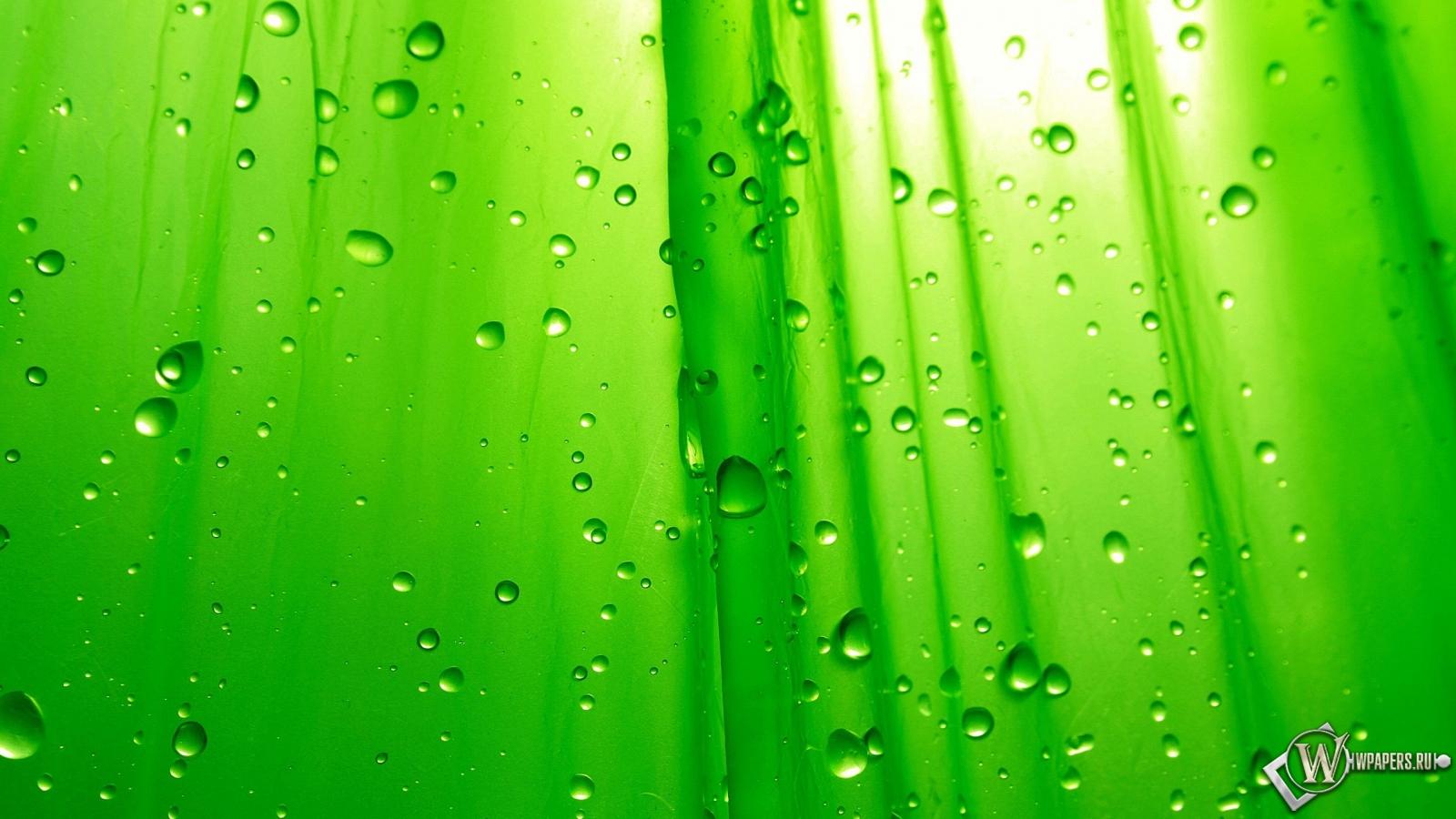 Зелёный фон 1600x900