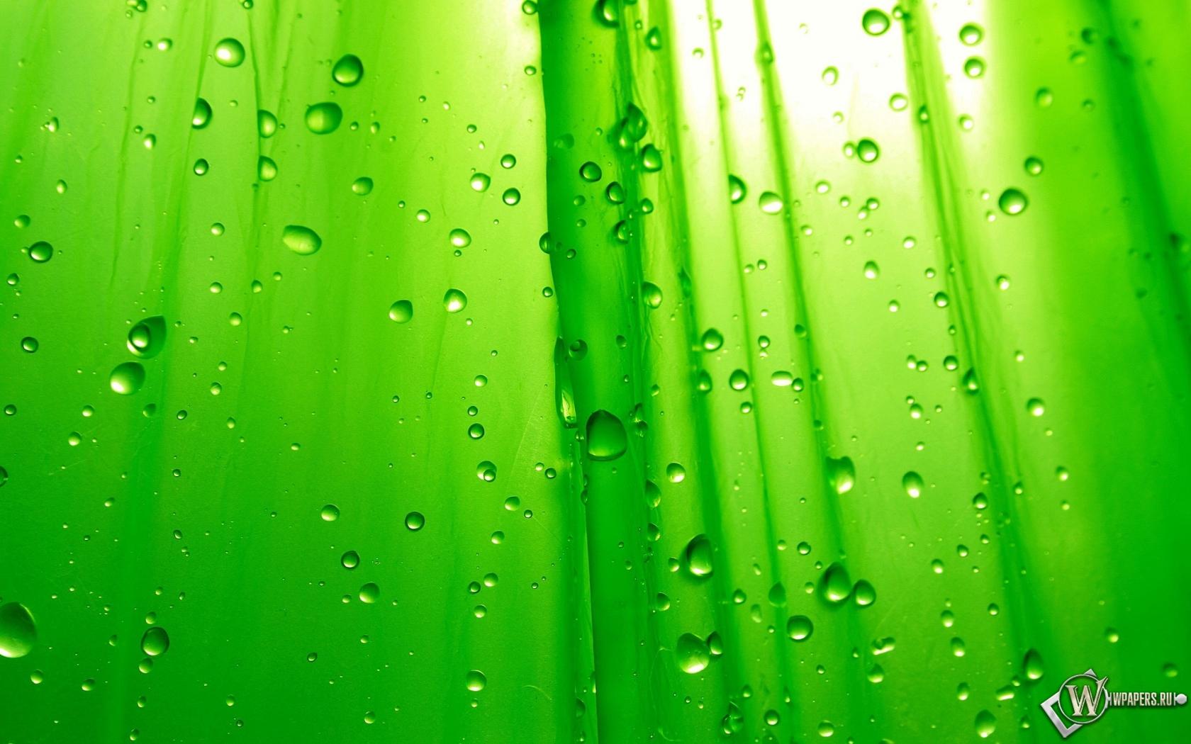 Зелёный фон 1680x1050