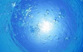 Обои Подводный мир: Вода, Океан, Пузыри, Вода