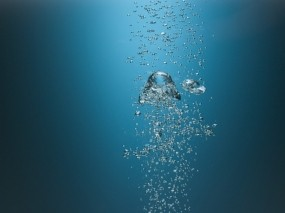 Обои Пузыри: Минимализм, Пузыри, Вода
