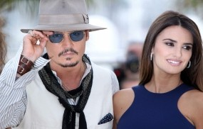 Johnny Depp & Penelope Cruz