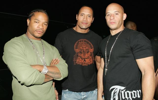 Xzibit Dwayne Johnson The Rock Vin Diesel