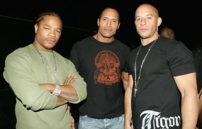 Xzibit Dwayne Johnson The Rock Vin Diesel