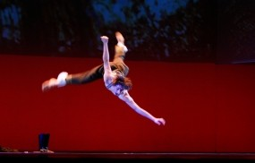 Танцор в прыжке