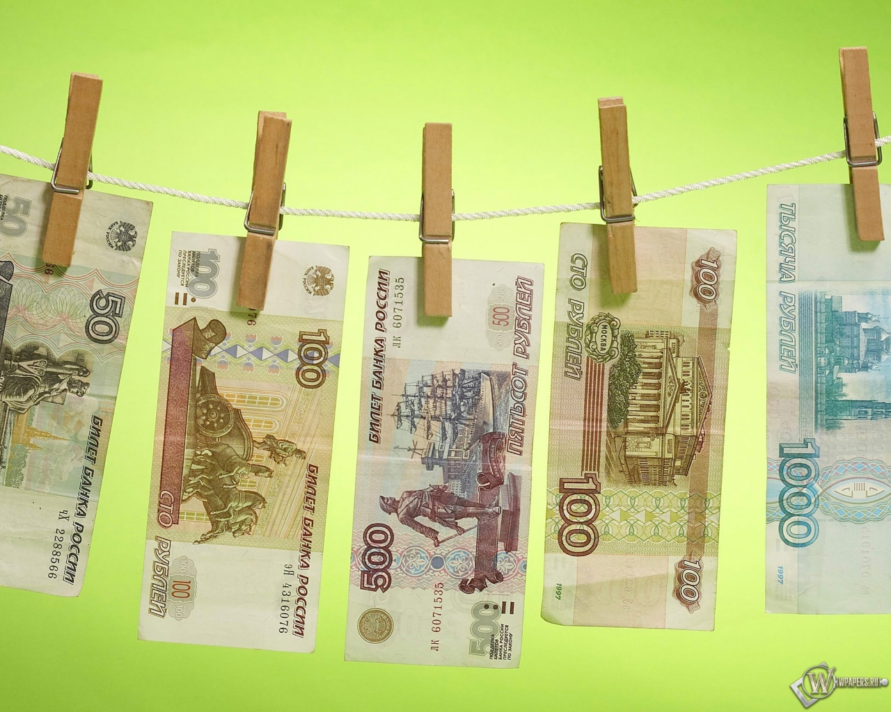 Деньги на просушке 1280x1024
