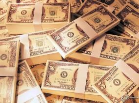 Обои Dolars: Зеленые деньги, Пачки с деньгами, Полтинник, Деньги