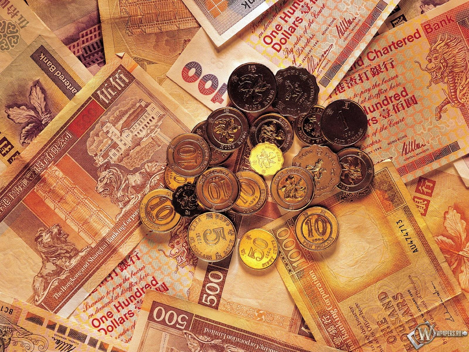 Картинки на рабочий стол с денежными купюрами