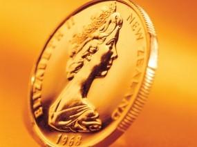 Обои Золотая монета: Золото, Желтый, Оранжевый, Монета, Деньги