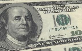 Франклин на 100 долларах