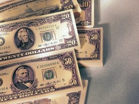 Обои Доллары: Банкноты, Купюры, Доллары, Деньги, Валюта, Деньги