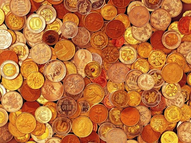 Одни монеты