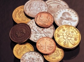Монеты Сингапура