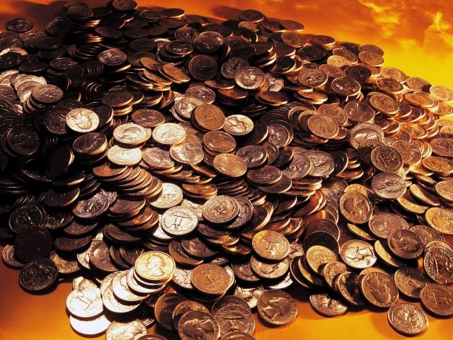 Рассыпанные монеты