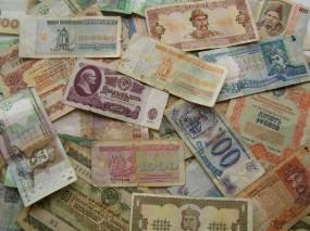 Обои Бумажные деньги СССР: Банкноты, Купюры, Деньги, СССР, Валюта, Банкнота, Деньги