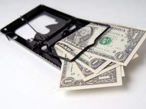 Мышеловка с деньгами
