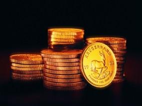 Обои Стопки монеток: Деньги, Чёрный фон, Монеты, Денежки, Деньги