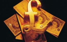 Обои Фунт стерлингов: Богатство, Деньги, Купюра, Монета, Деньги