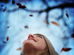 Обои Осеннее настроение: Любовь, Небо, Радость, Настроения