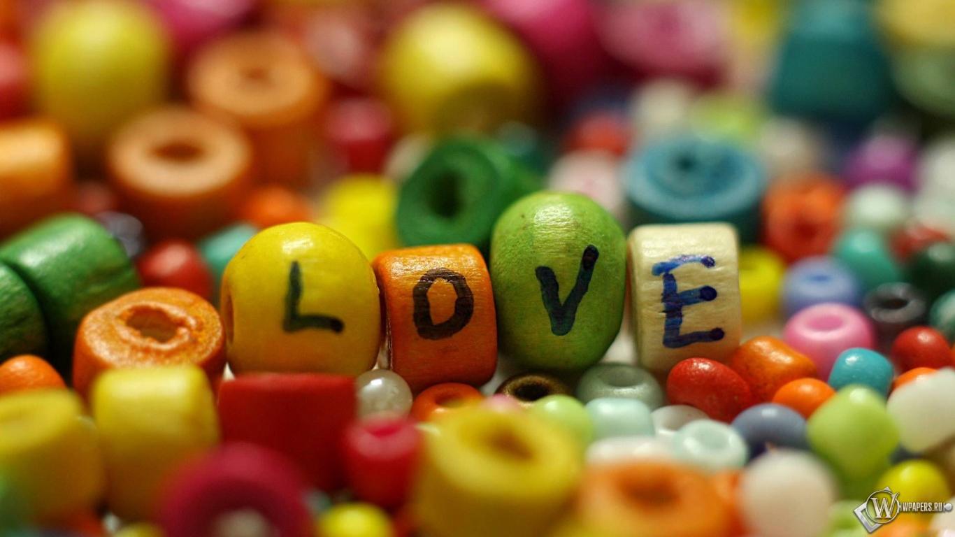 Любовь 1366x768