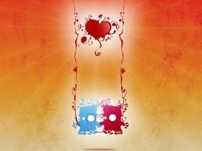 Обои Двое: Любовь, Настроение, Настроения